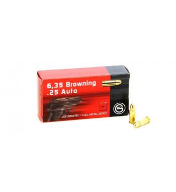 Munitions 6,35 boîte de 50 - 49Gr