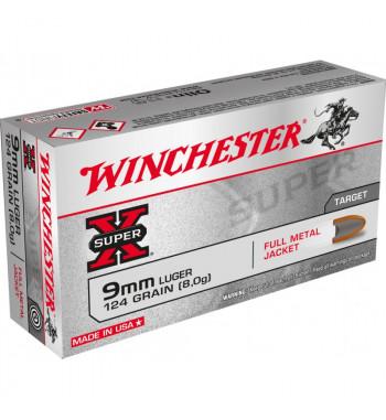 Munitions 9x19 boîte de 50 - 124Gr