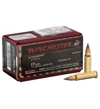 Munitions 17 HMR boîte de 50 - 17 Gr