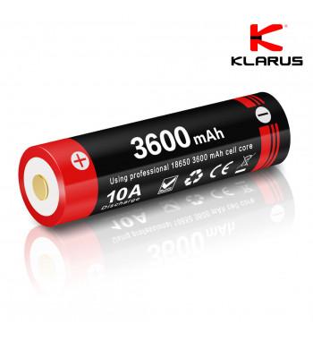 Batterie rechargeable prise micro USB – 3600 mAh (18650)