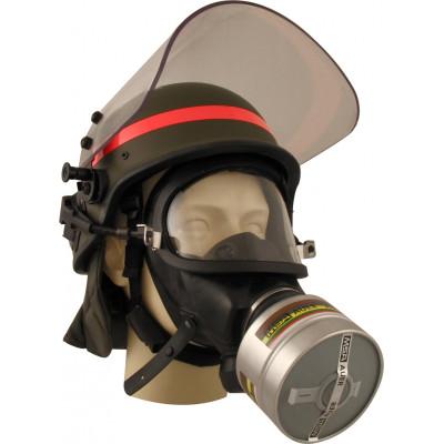 Masque à Gaz 3S MSA pour Casque Balistique